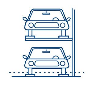 2 Level Car Parking